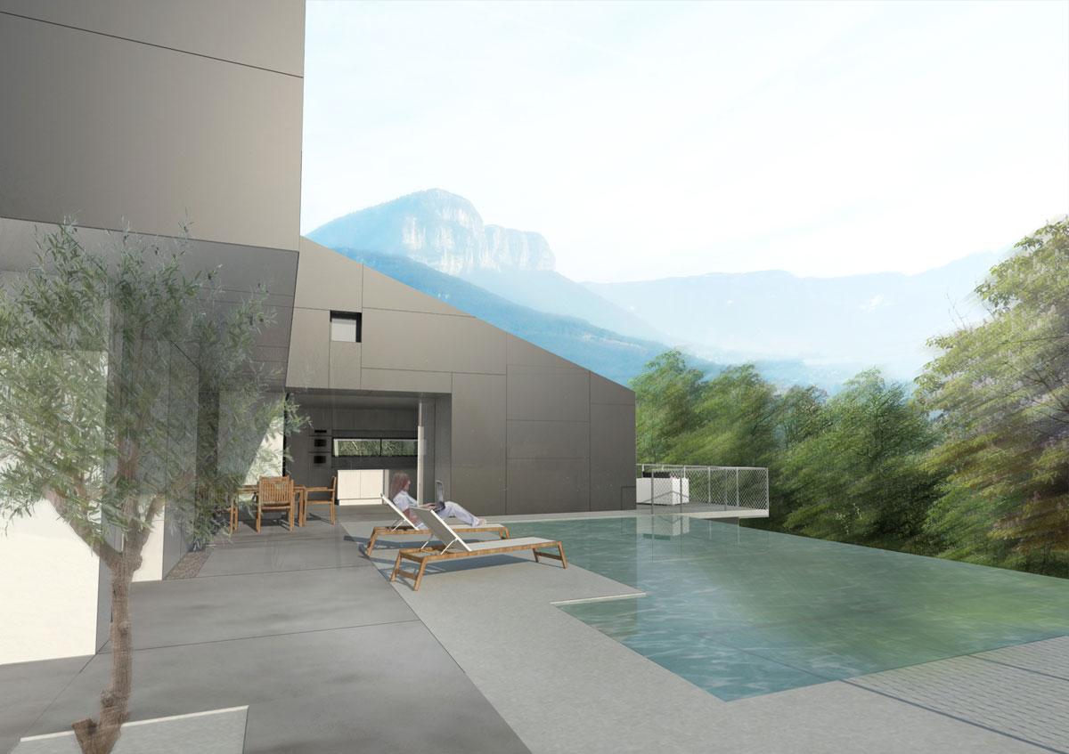 la toiture habit e asb architecture. Black Bedroom Furniture Sets. Home Design Ideas