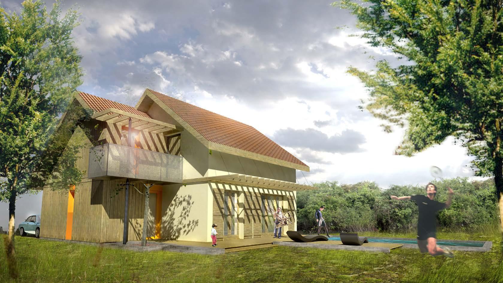 Surrélévation + réaménagement intérieur d'une villa individuelle