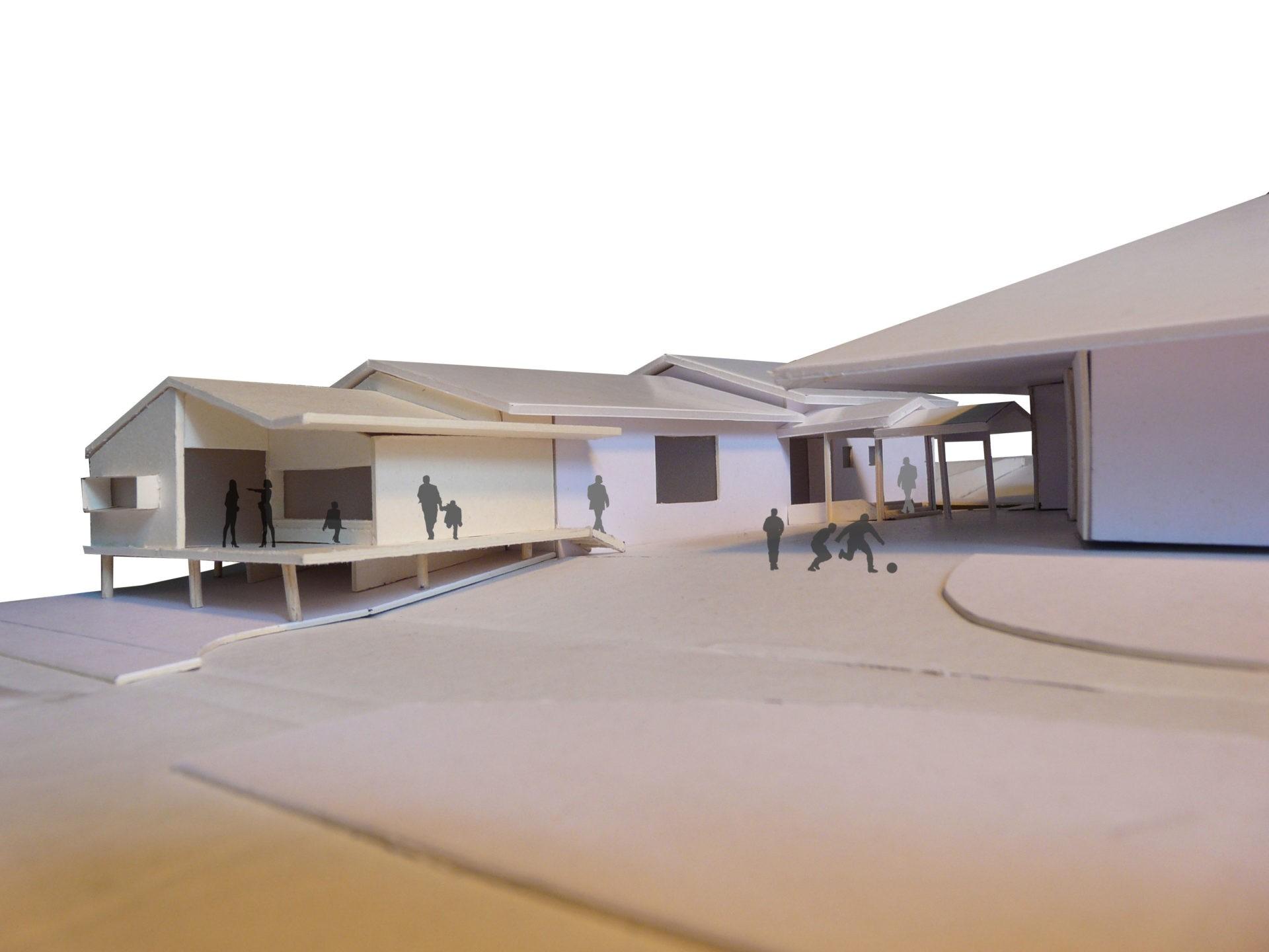 Extension du restaurant scolaire asb architecture - Extension prefabriquee ...